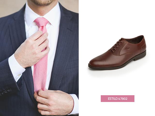 Este diseño oxford elegante y distinguido lo encontrarás esta temporada en Flexi, los zapatos de hombre para traje siempre son necesarios en el armario