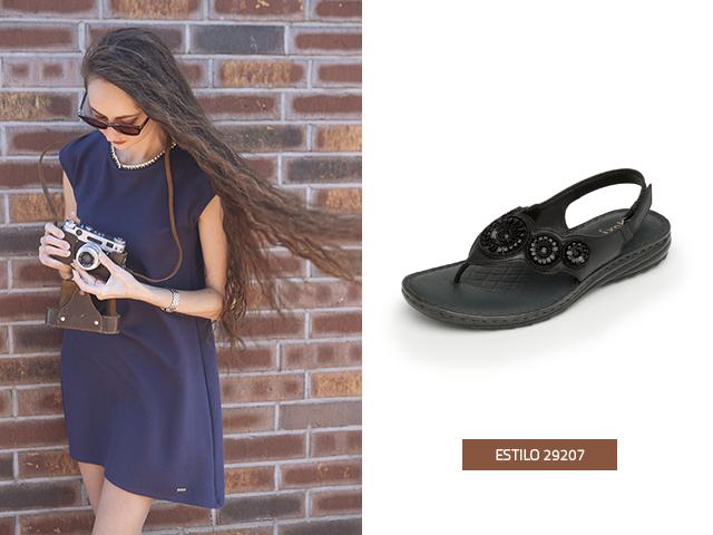 Para esta temporada de calor estos zapatos de mujer de piso estilo pata de gallo harán la combinación perfecta para lucir tus pies y un pedicure lindo