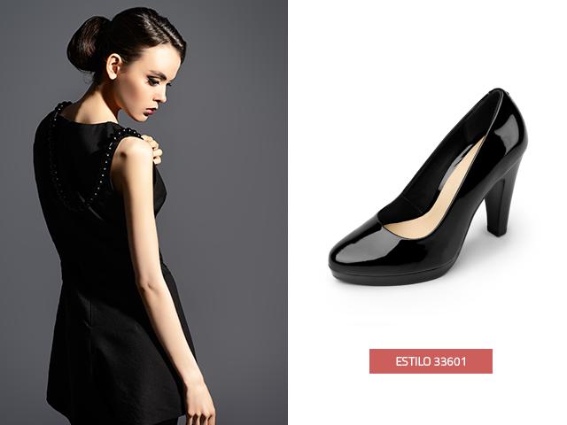 Nada como un par de zapatillas negras con estilo elegante y distinguido, estos zapatos son básicos en el armario, siempre te ayudan a salir adelante en eventos inesperados