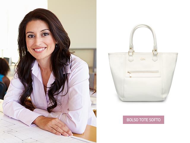 El color blanco en los bolsos de moda es básico y no debe faltar en el armario, puedes utilízalo en cualquier época del año y lucirla en cualquier momento