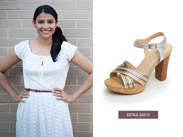 Si tu evento es de día, los vestidos de graduación cortos en color blanco son ideales, puedes hacer una combinación con sandalias de media plataforma para que te veas estilizada y con altura