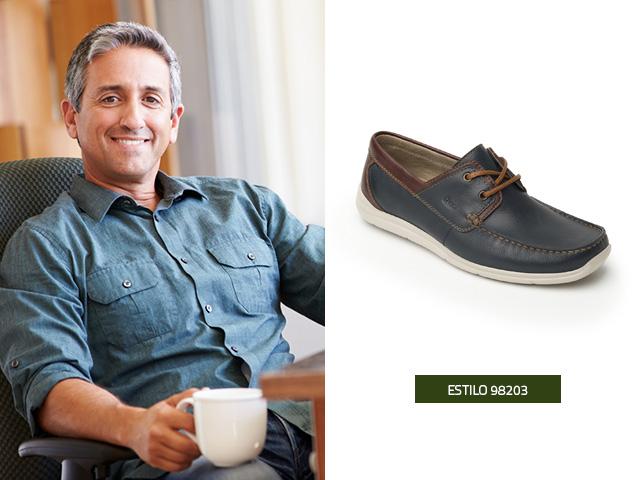 Zapatos negros Flexi