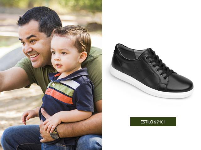 Sneakers Negros Flexi