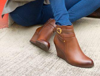 4 estilosos zapatos de cuña para toda ocasión