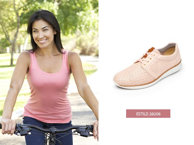 71557348 Sneaker rosa perforado con-agujetas Flexi. Hablando de los zapatos color  nude ...