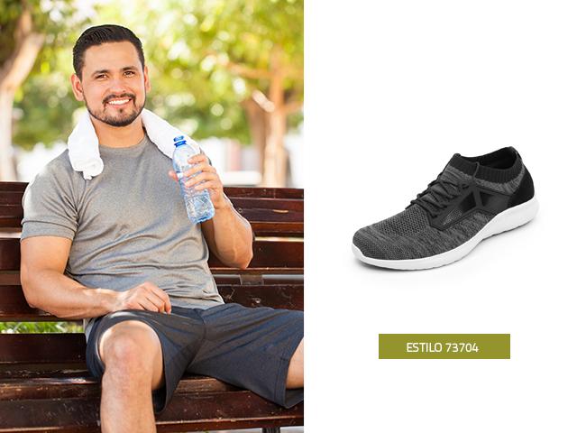 sneaker-urbano-perforado-gris Flexi