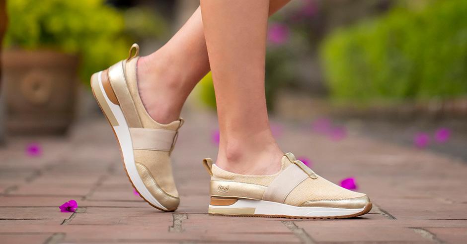 Zapatos comodos para mujer-de-temporada Flexi