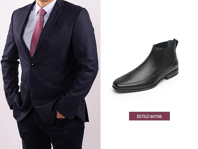 Zapatos para traje negro  ¿Cómo combinarlos de manera adecuada ... 3e0ea77d502
