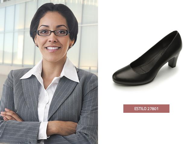Zapatilla clásica negra Flexi