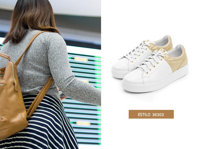 Sneaker-suela-gruesa-blanco Flexi