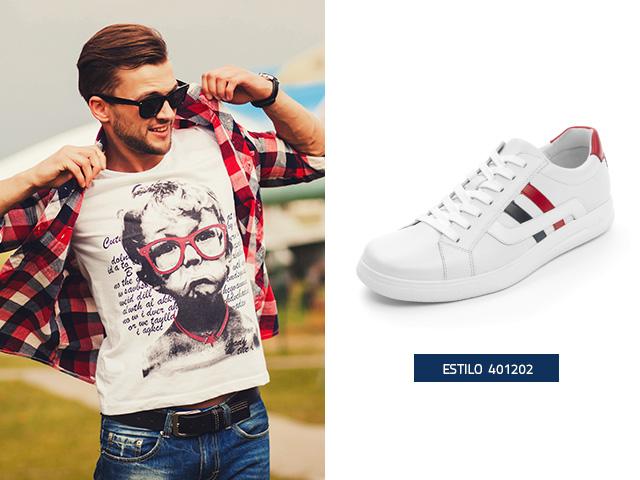 sneaker-urbano-clasico-franjas Flexi