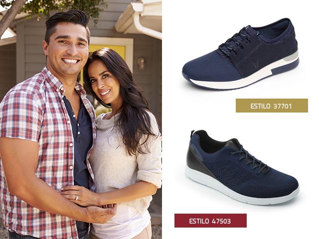 sneakers-azules Flexi
