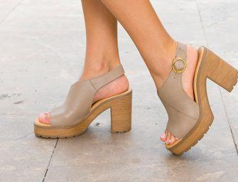 Combina tus zapatos de primavera con vestidos de moda 2019