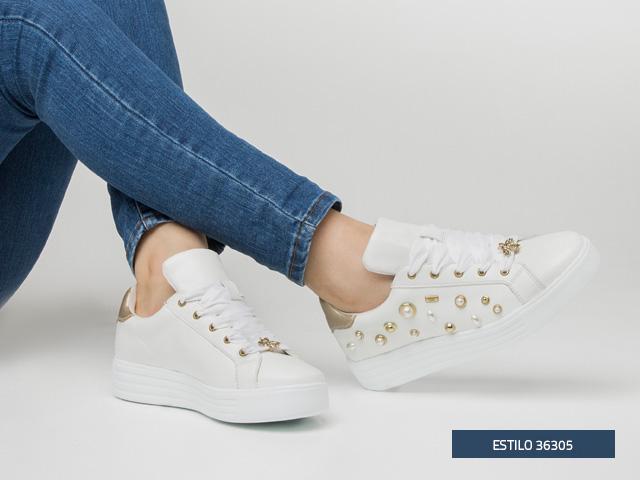 sneaker-perlas-blanco Flexi
