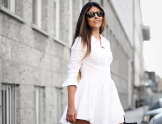 What shoes to wear with a white dress
