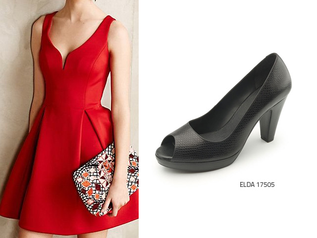 What Shoes To Wear With A Red Dress Flexi News