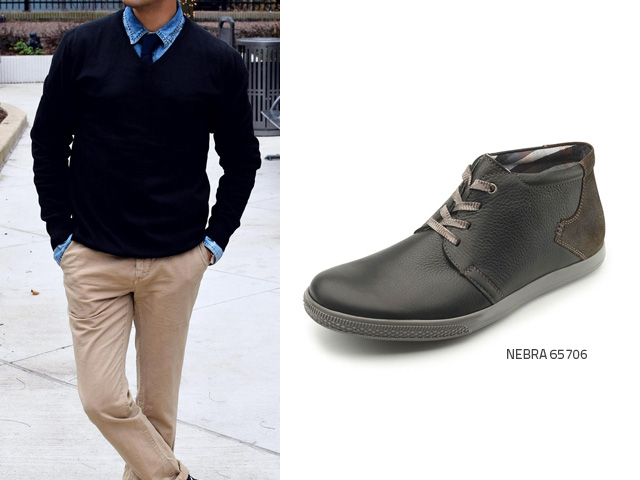 Black Or Brown Shoes With Navy Chinos