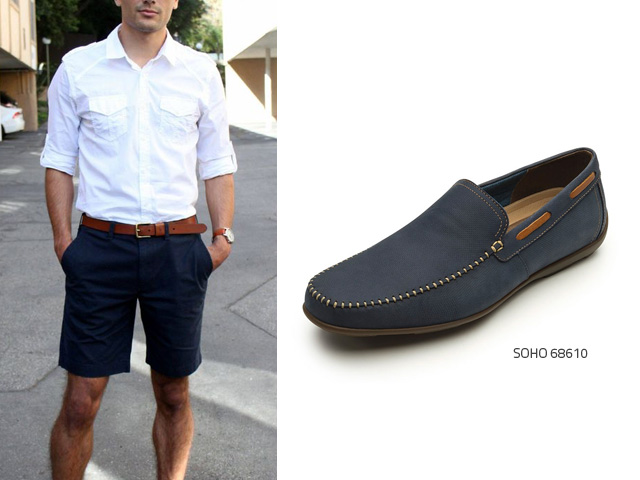 ショートパンツで着る良い靴