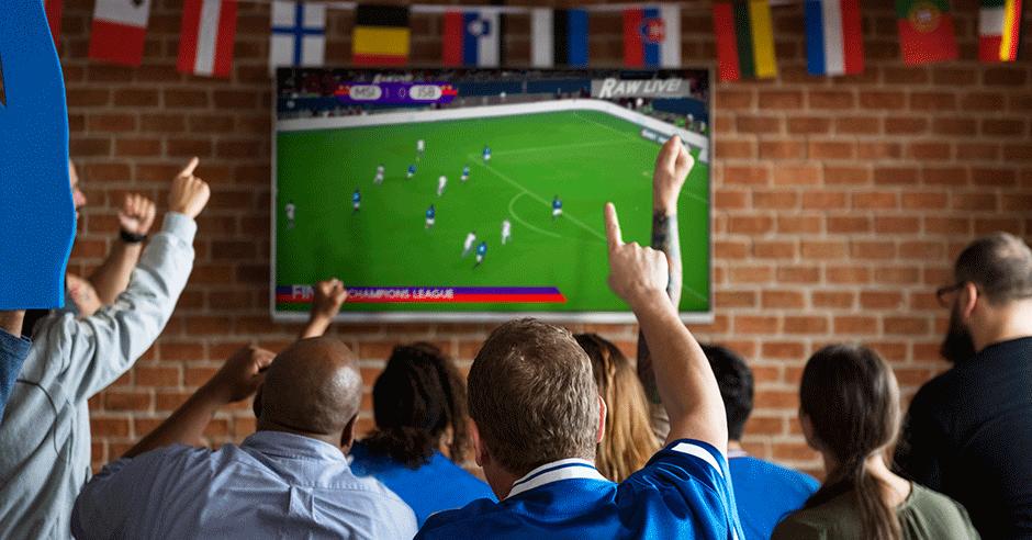 Prepárate para ver la final del fútbol | Zapatos Flexi