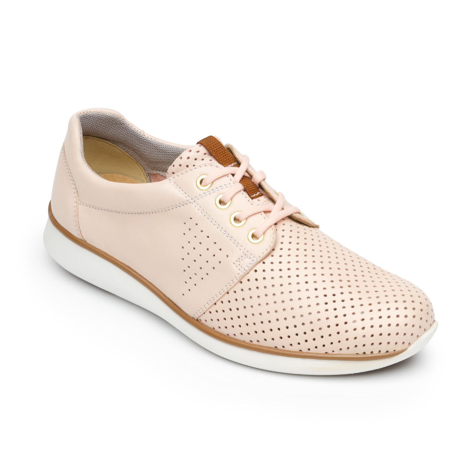 Loreta 28206 In Rose Womens Sneakers Flexi Shoes