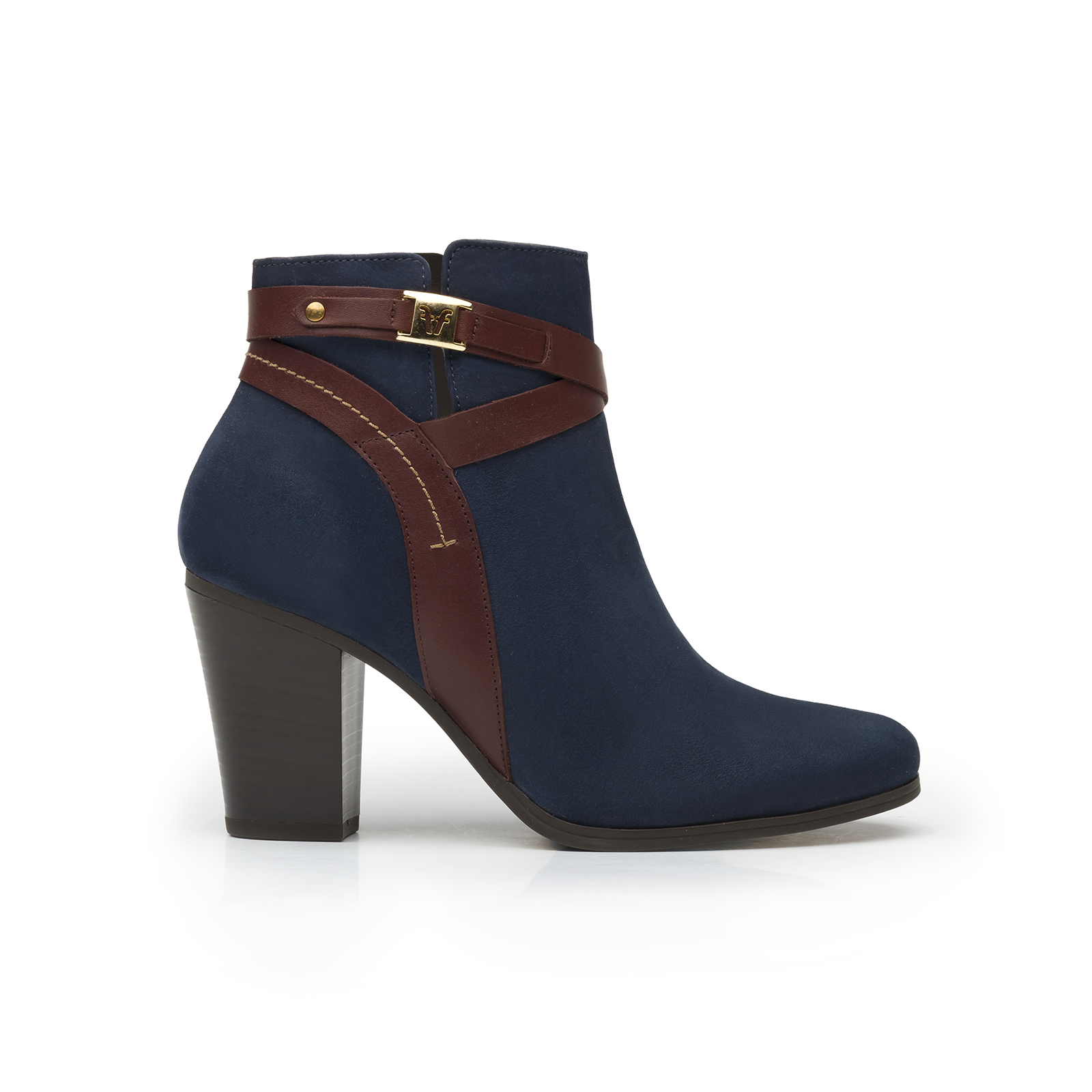 Melina 46007 In Blue Suede Women S Boot Flexi Shoes