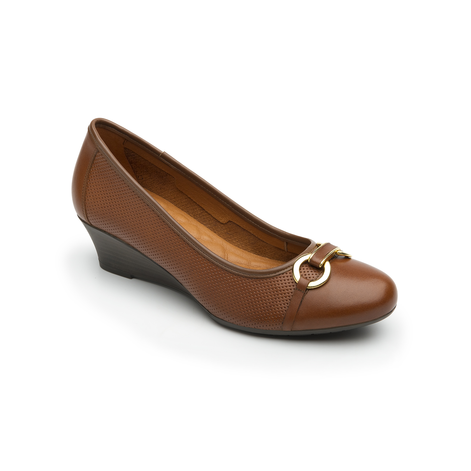 Agata 18813 In Whiskey Women S Wedges Flexi Shoes