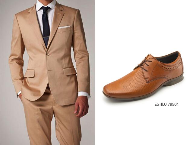 a109ede31d1 Qué zapatos usar con un traje color champagne? - Flexi